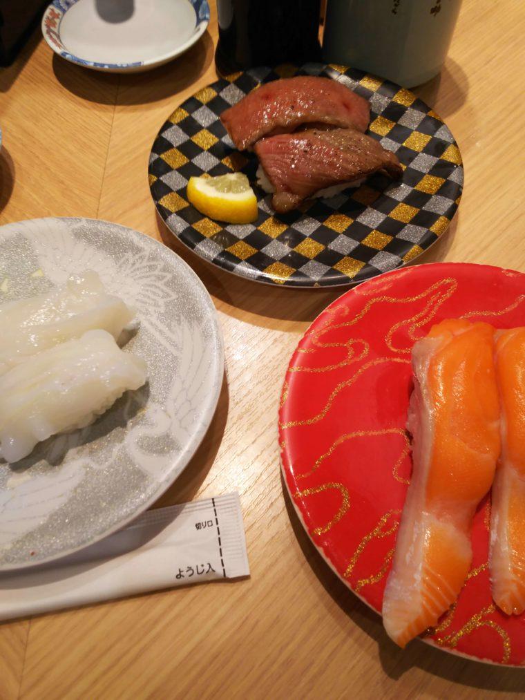 Hakotaro's sushi I ordered