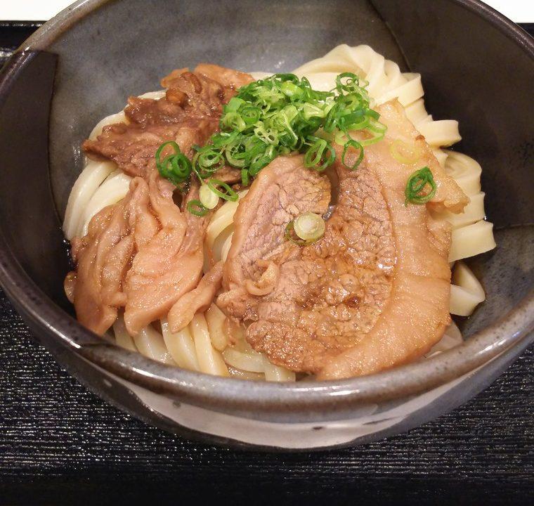 うだま梅田店の肉ぶっかけ(冷)