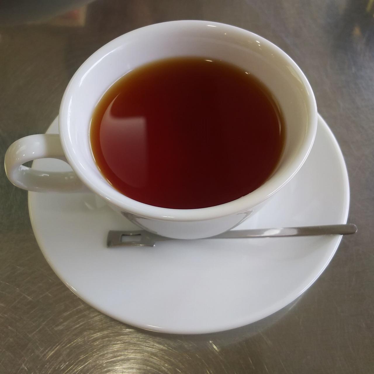 フルーツパーラー クリケットの紅茶