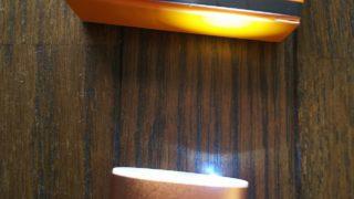 GS POWERのLEDライト点灯