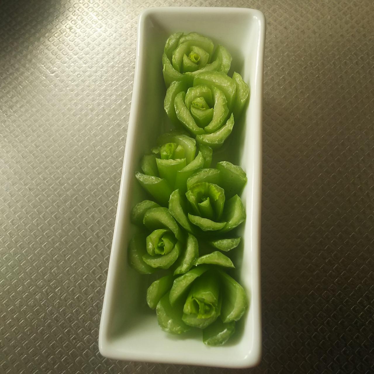 小松菜の切れ端