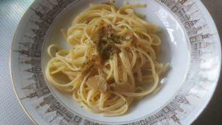 七味でつくったペペロンチーノ