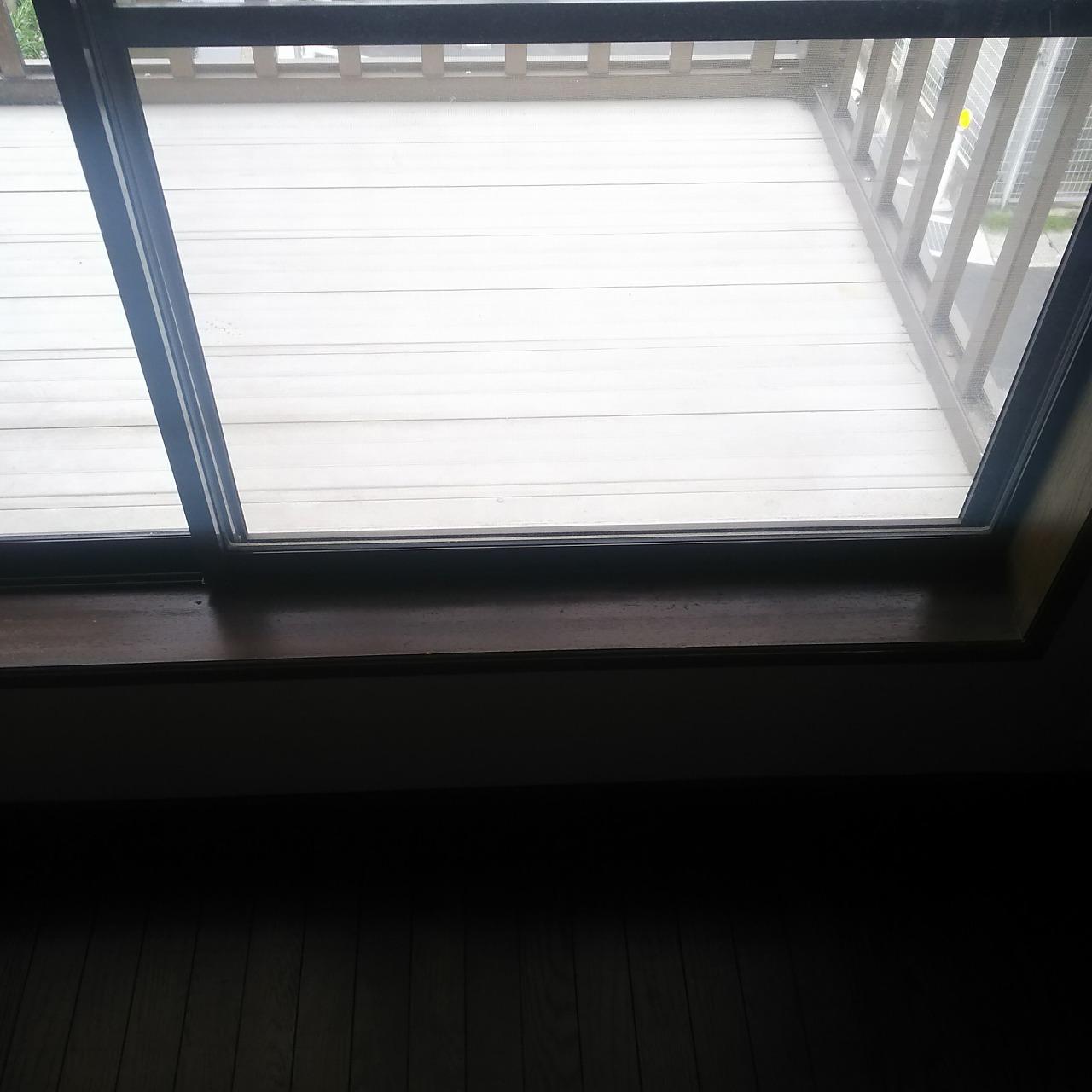 リノベーション前の窓
