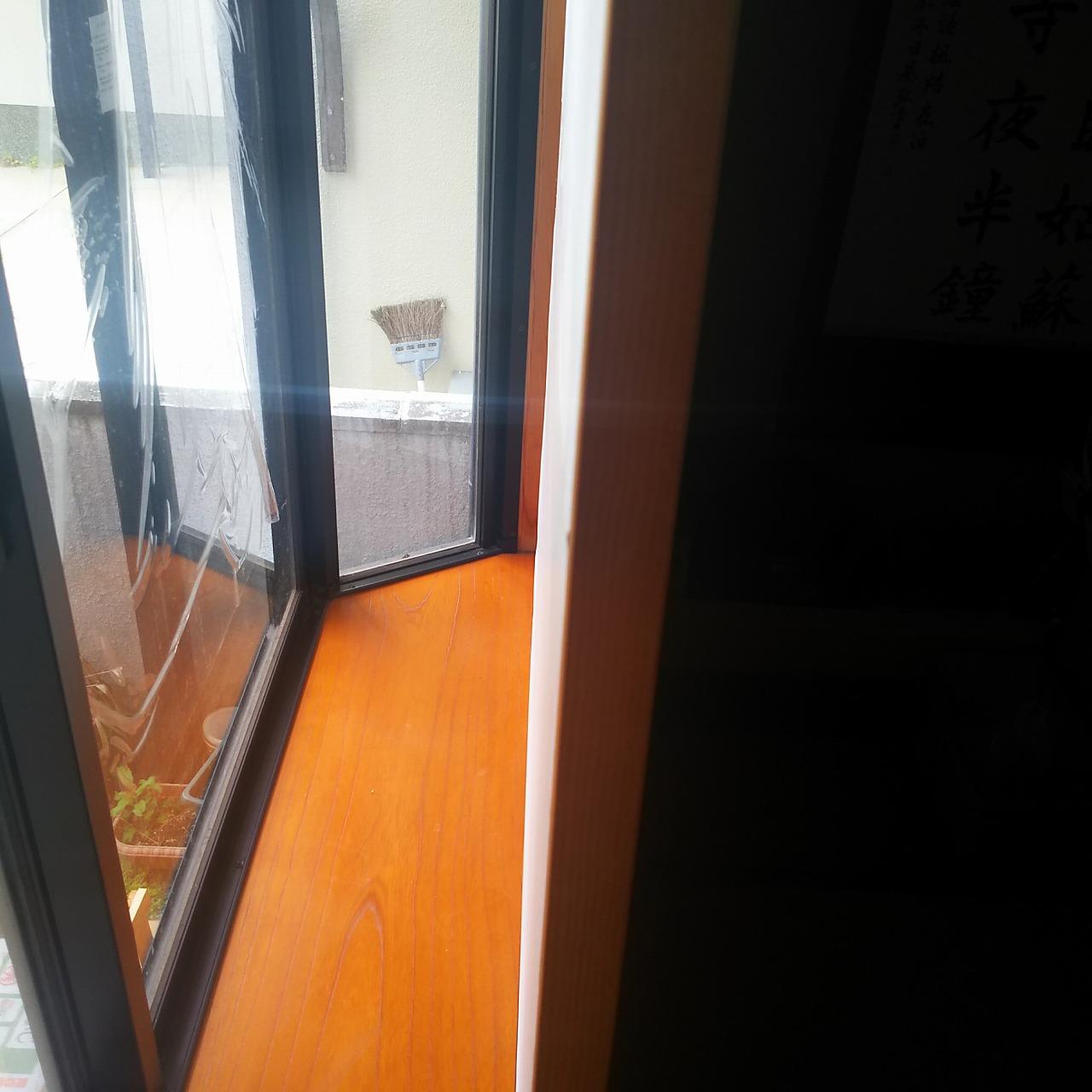 リノベーション前の和室出窓
