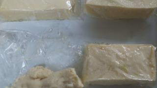 冷凍した豆腐